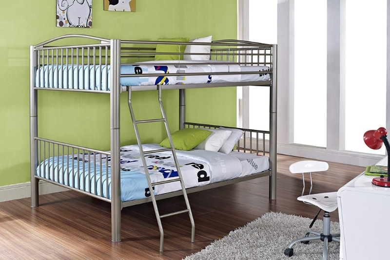 bunk beds are in