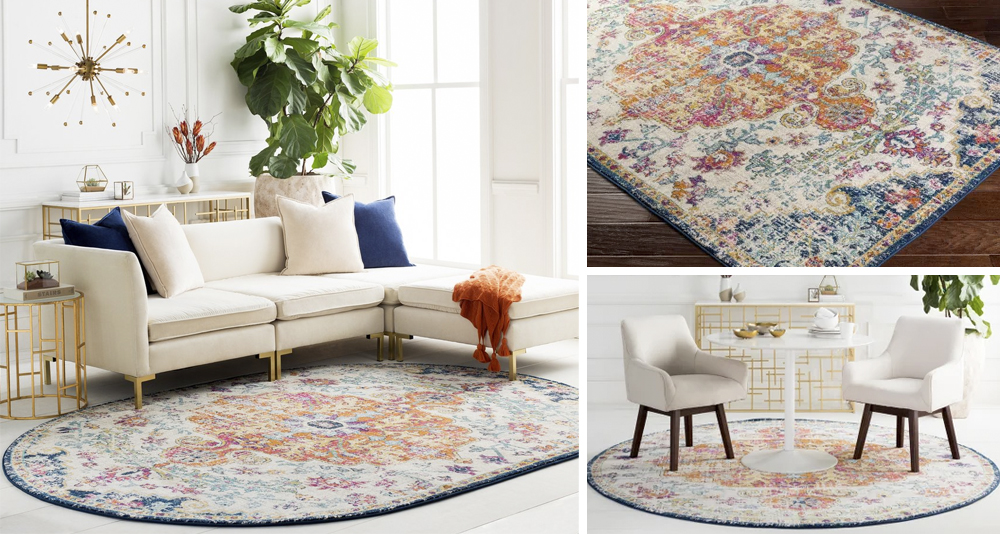 Frances - Updated Traditional Medallion Area Rug